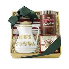 Nothing says the holidays like hot chocolate and this gift set is the perfect pick me up for someone on your list The Hot Chocolate Gift Set from williams sonoma is on sale for $71.96.