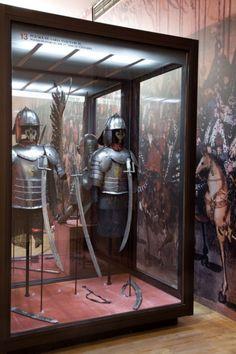 Historical Artefact, Polish hussars armour, 17th century Source:...