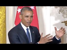 "Obama Slams Donald Trump For Attacking Khan Parents: Trump Is ""Unfit To Be President"" - YouTube"