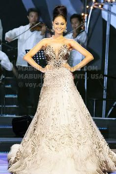 how to make michael cinco gown