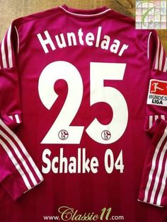3403fe4ef28 2011/12 Schalke 04 3rd Bundesliga Player Issue Football Shirt Huntelaar #25  (M)
