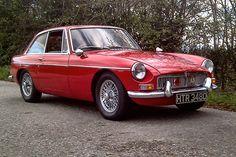 MGB GT 1966