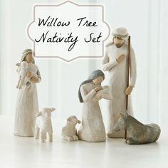 Amazon: Willow Tree Nativity Set only $45.42 (reg. $75.50!) + Free Shipping