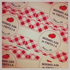 #etiquetas para tarros de mermelada casera