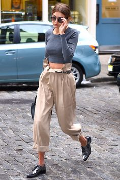 Let Gigi Hadid Convince You to Give This Ultracomfortable Pants Style a Try