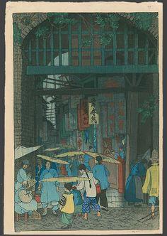 Outside Chang Man Gate, Soochow, Elizabeth Keith