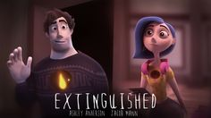 Extinguished is a heartwarming animated short film, created by Ringling College of Art & Design students Ashley Anderson and Jacob Mann, about a man who Ashley Anderson, Magazine Art, Community Art, Zbrush, Short Film, Filmmaking, Concept Art, Digital Art, Photoshop