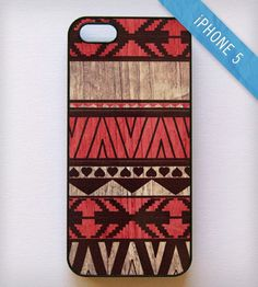 Aztec Print iPhone 5 Case - Red | BlissfulCASE