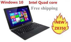 10inch mini laptop Windows 10 netbook : Touch capacitive screen : Dual cameras