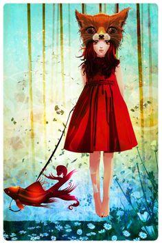 Red. The Dark Inker.