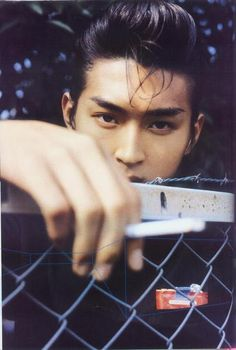 Matsuda Shota - young Japanese Actor from Liar Game. He came from a family of actors/actresses (dad, mom, bro, aunt)
