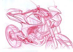 Sketchs de Motos - Renato Saes              design