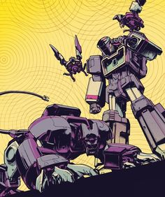 Soundwave and minions