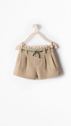 Cute little Fall shorts | Zara Baby 2014