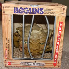 Boglins....My son (who is now grown) had one of these