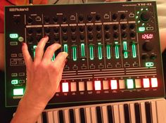 a lazy bed session with Roland Aira TR-8