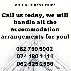 For more information and bookings visit our website. Construction Companies, Business Travel, Trip Planning, Traveling By Yourself, Times, How To Plan, Website