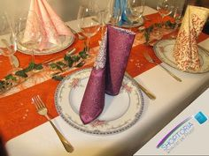 Servietten falten einfach und schnell für Feiern und Hochzeit - YouTube