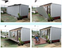 Home Decorating Style 2020 for Simple Shipping Container Home Designs, you can see Simple Shipping Container Home Designs and more pictures for Home Interior Designing 2020 at Container House Rustic Tiny Homes. Building A Container Home, Container Buildings, Container Architecture, Tiny Container House, 20ft Container, Sustainable Architecture, Contemporary Architecture, Shipping Container Home Designs, Container Design