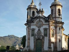 Best places to visit in #Brazil: Igreja São Francisco de Assis, Ouro Preto, Minas Gerais