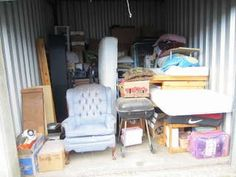 Sample unit (from Greater American Self Storage Lien Sale) Storage Unit Auctions, Self Storage, The Unit, American, Furniture, Home Decor, Decoration Home, Room Decor, Home Furniture