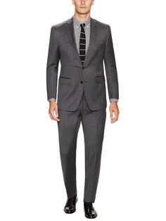 Ben Sherman Solid Wool Suit