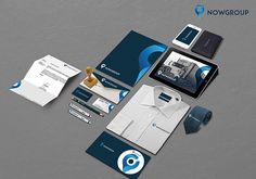 Nowgroup Branding Redesign on Behance