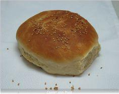 Pan de Hamburguesa en panificadora | Comer con poco Pan Burgers, Empanadas, Granola, My Recipes, Donuts, Hamburger, Food And Drink, Bread, Baking