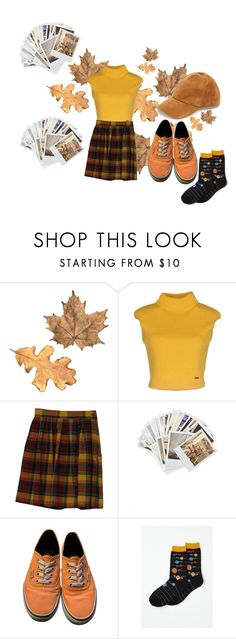 """høst"" by sannalagesenfenheim on Polyvore featuring Dsquared2, Chronicle Books, Vans and Steve Madden"