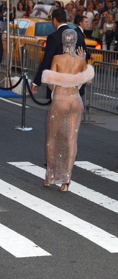 Rihanna CFDA Awards 2014 x Swarovski diamonds dress