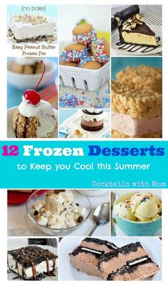 12 Frozen Desserts to Keep you Cool this Summer