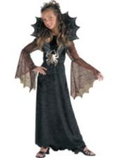 Girls Spider Countess Costume  - Horror, Gothic Costumes - Girls Costumes - Halloween Costumes - Categories - Party City
