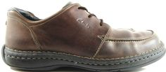 Clark Men Shoes Size 11.5M Brown Leather Mesh Lining Style 30127.  ABA 6 #Clarks #Oxfords