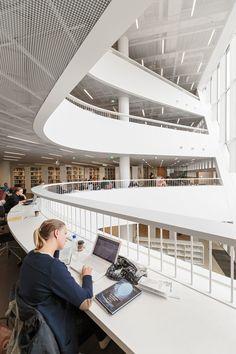 Anttinen Oiva Architects Ltd, Mika Huisman, Tuomas Uusheimo · Helsinki University Main Library