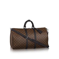 Keepall Bandouliere - Weekender Bag in Damier Ebene Canvas Louis Vuitton Keepall 55, Tienda Louis Vuitton, Louis Vuitton Handbags, Louis Vuitton Uk, Louis Vuitton Luggage, Vuitton Neverfull, Brown Purses, Brown Bags, Bags Online Shopping