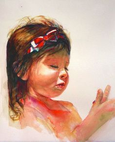 Diane Ziemski WATERCOLOR | Art Portraits of Children | Pinterest