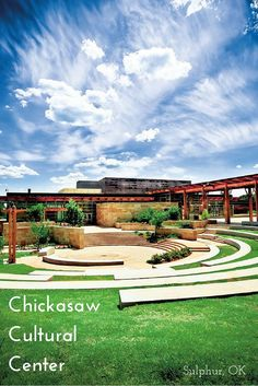 The Chickasaw Cultural Center in Sulphur, Oklahoma puts visitors deep into the history, art and culture of the Chickasaw people. It includes a theater, interactive exhibits and even a traditional village.