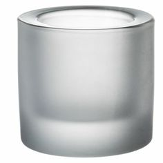 Kivi candleholder from Iittala - frosted