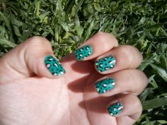 animal print verde