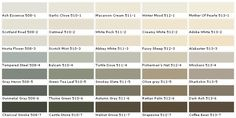 Pittsburgh Paints - Pittsburgh Paint Colors - Pittsburgh Colors - House Paint Colors - Paint Chart, Chip, Sample, Swatch, Palette, Color Cha...