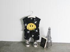 스마일스타 나시세트 블랙 빛나는구름아동복