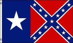 REBEL / CONFEDERATE TEXAS STATE  3 X 5 FLAG ( sold by the piece ) Texas Revolution, Jefferson Davis, Rebel, Flag, Things To Sell, Science, Flags