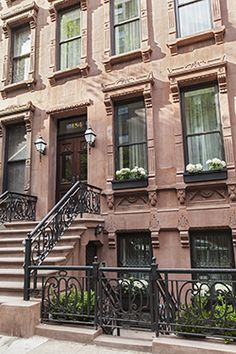 Townhouses For In New York Vandenberg Inc Brownstone Homesnew Brownstonecity