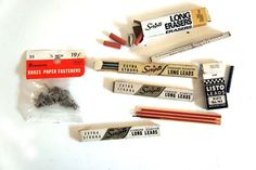 Vintage Office Supply Bundle by pinkshirtsncarwrecks on Etsy