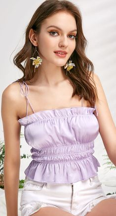 Women S Fashion Dresses Online Product Fashion Beauty, Girl Fashion, Fashion Outfits, Style Fashion, Dressy Tops, Casual Tops, 80s Inspired Outfits, Clara Berry, Princes Fashion