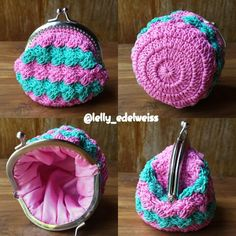 Frame coin purse Diamond