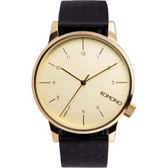 Komono Watch - Winston - Black Zirconium (twistedtime.com)