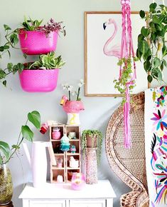 Wally Eco Hanging Wall planters make it easy to grow a garden in any space. Wally Eco planters are made from recycled milk jugs and are made in the USA. Garden Wall Planter, Living Wall Planter, Hanging Wall Planters, Vertical Garden Wall, Glass Bathtub, Wall Brackets, Bohemian Decor, Home Interior Design, Pretty In Pink