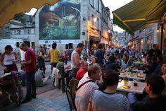 Braderie à Aubusson le 24/07/2014 ©Service Communication Communauté de Communes Creuse Grand Sud - M.J.B. #concert #bar