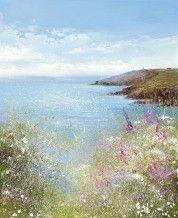 Amanda Hoskin - Towards the Gribben, a Hot Summers Day